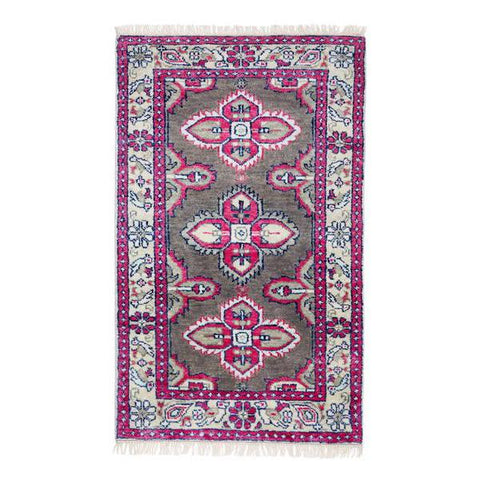 Kismet Rug in Raspberry