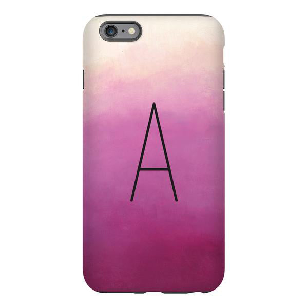 rose ombré phone cover