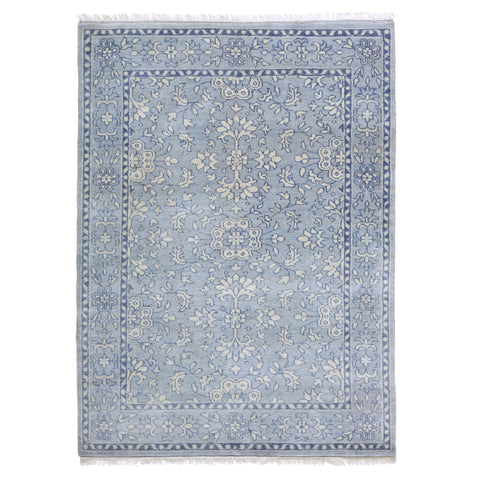 Emma Rug in Soft Blue