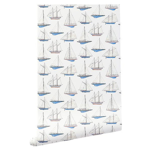 CAIT KIDS: Sailing Wallpaper