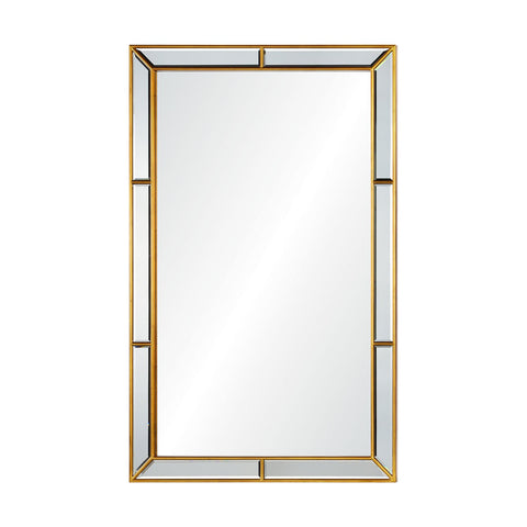 Salisbury Mirror in Brass