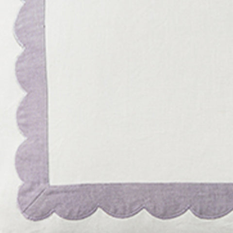 Scallop Trim in Lilac Fabric Swatch