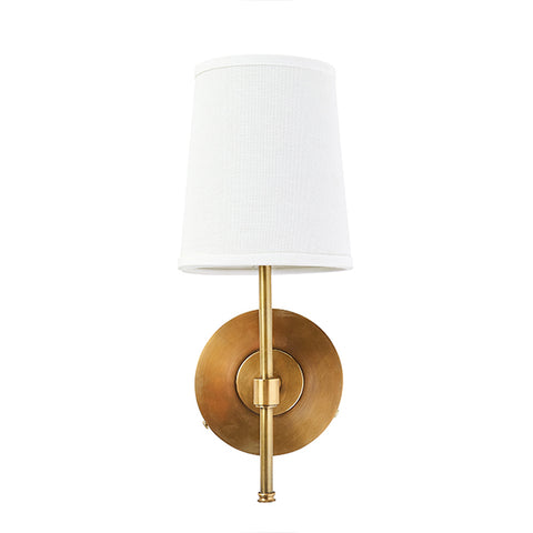 Avery Wall Sconce in Brass Finish