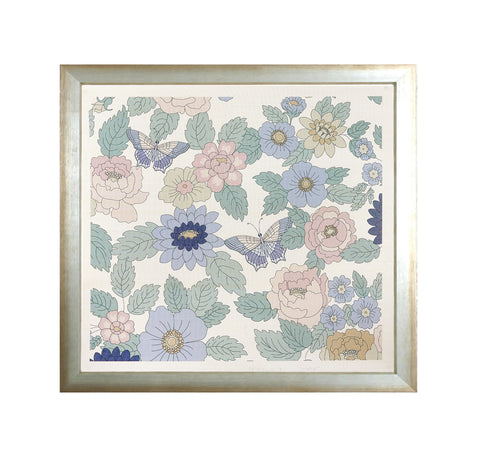 New! Maria Framed Grasscloth Print