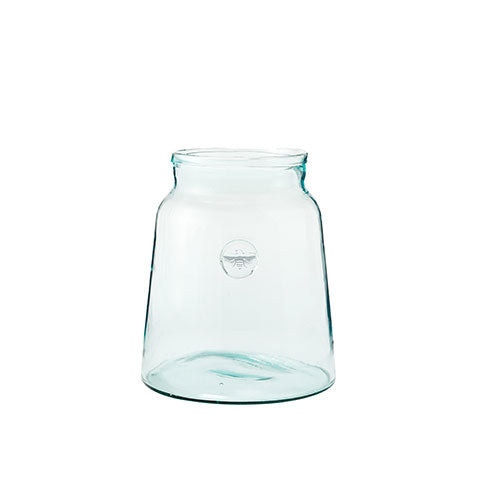 Small French Mason Jar with Bee