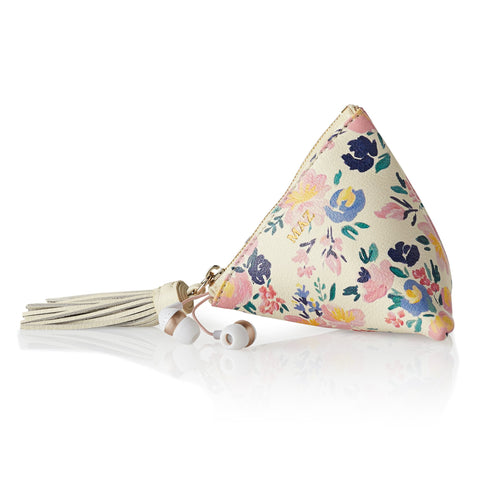 Caitlin Wilson x Mark and Graham Leather Triangle Pouch