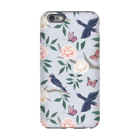 Soft Blue Chinoiserie Phone Cover