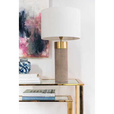 Soho Shagreen Lamp