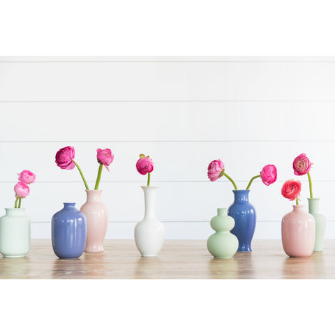 Mini Bud Vase in Light Rose