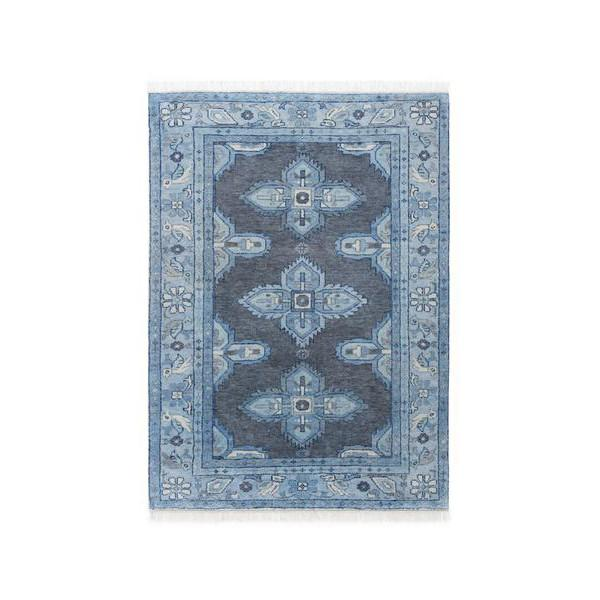 kismet rug in steel