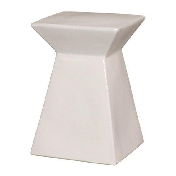 athos stool in white