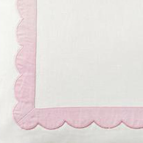 Scallop Trim in Thistle Fabric Swatch