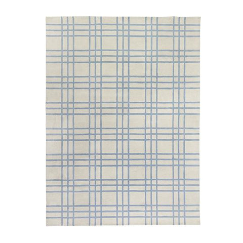 Tufted Livingston Rug in French Blue