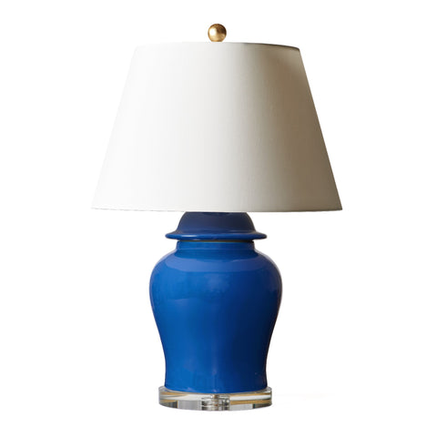 Temple Jar Lamp in Admiral Blue