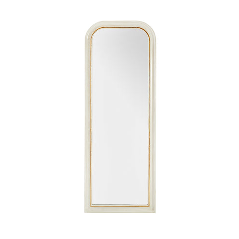 New! Vera Floor Mirror in White
