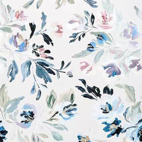 Vienna Floral Wallpaper Swatch