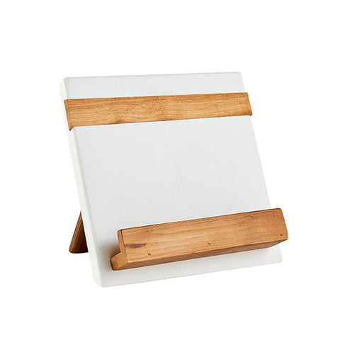 Cookbook Holder in White