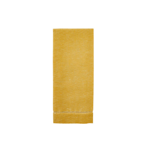 Solid Yellow Tea Towel