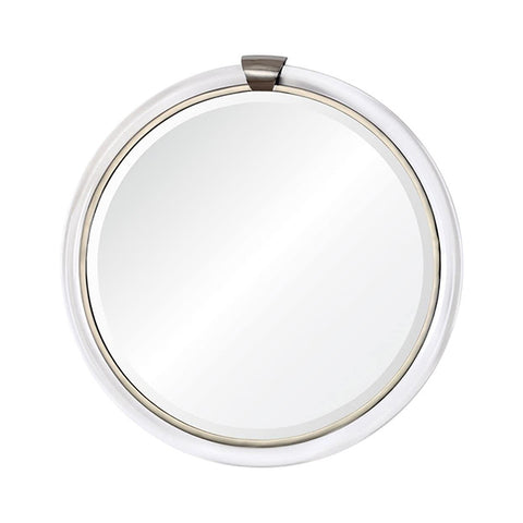 Bengal Mirror in Silver