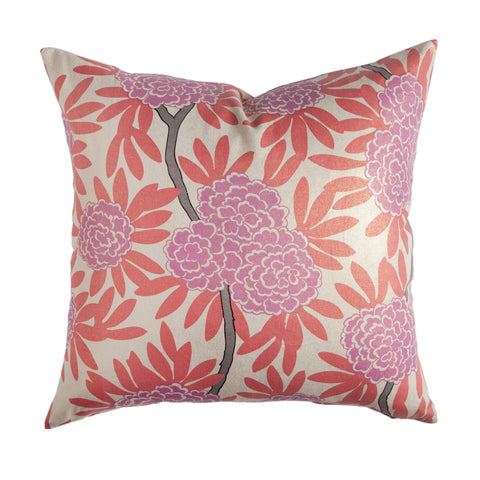 Berry Fleur Chinoise Pillow