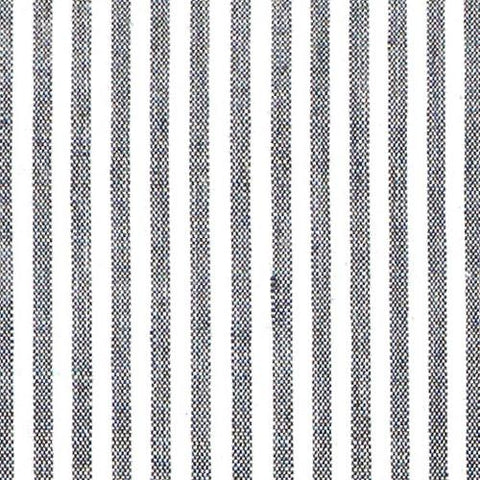 Black French Stripe Fabric