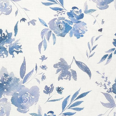 Fiore in Indigo - GRACELINE COLLECTION Fabric