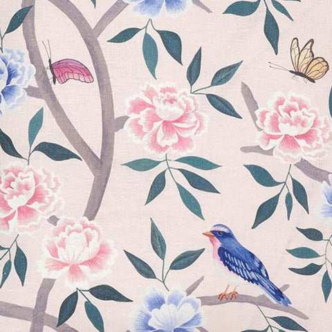 Blush Chinoiserie Fabric