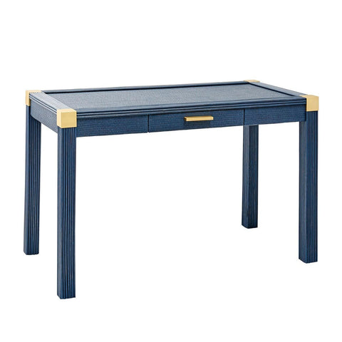 Tatum Desk - Navy Blue Finish