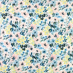 Brushstroke Floral Fabric Swatch