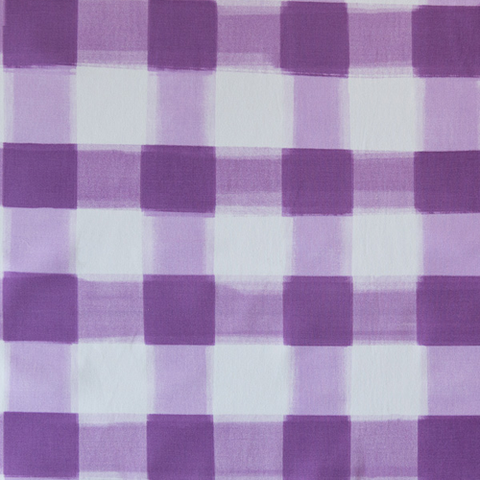 Lilac Burnside Buffalo Check Fabric