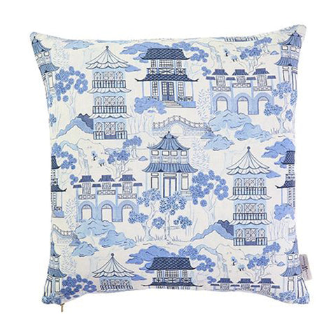 Canton Toile Pillow
