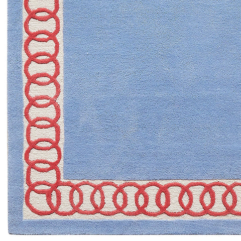 Chic Links Rug Sample