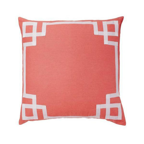 Coral Deco Pillow