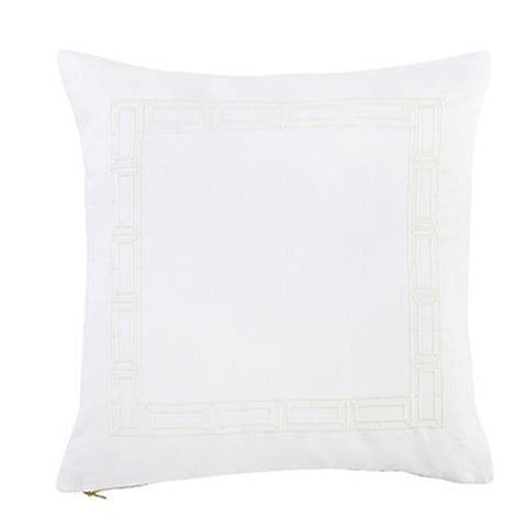 Ivory Empire Trim Pillow