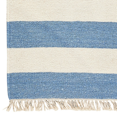 Marina Wide Stripe Flat Weave Rug Sample