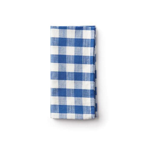French Blue Gingham Napkin