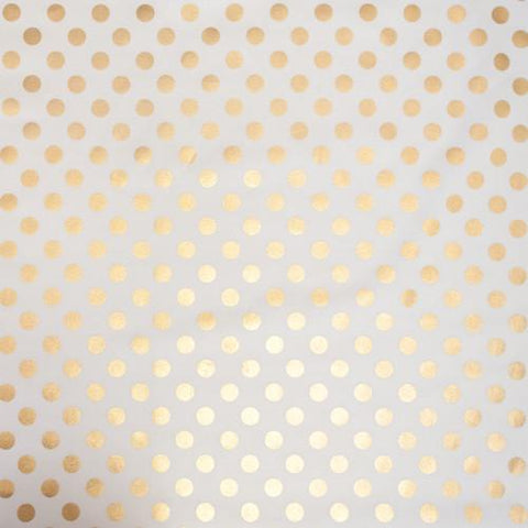 Gold Dot Fabric
