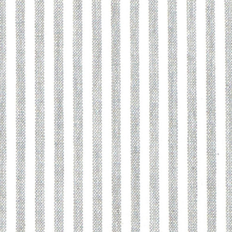 Grey French Stripe Fabric