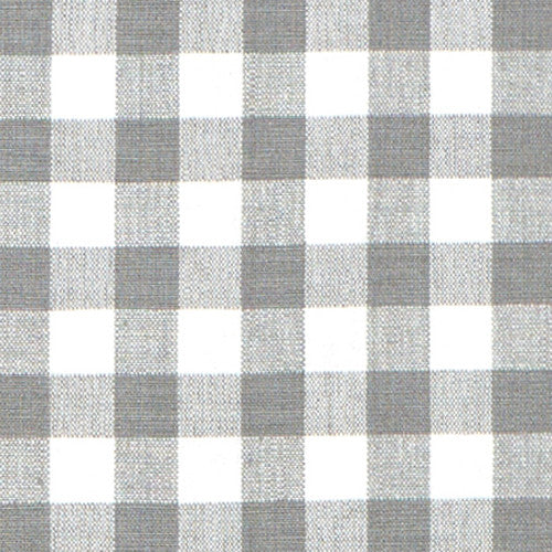 Grey Gingham Fabric Caitlin Wilson