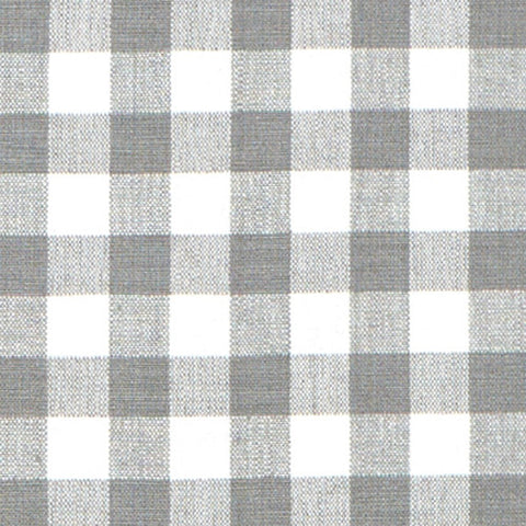 Grey Gingham Fabric