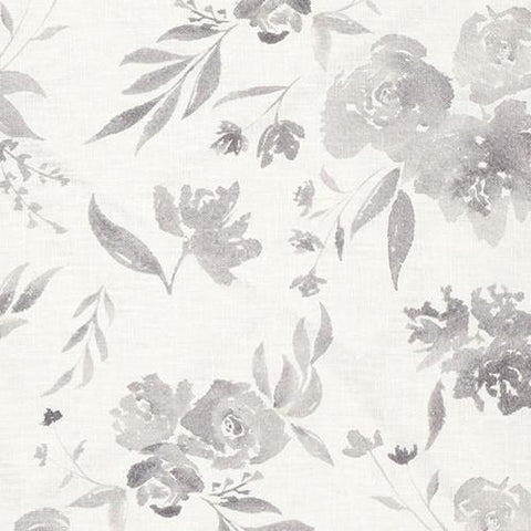 Fiore in Grey - GRACELINE COLLECTION Fabric