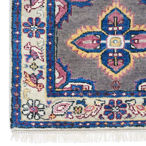 Kismet Rug in Mulberry