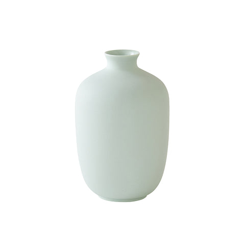 Mini Cylinder Vase in Green