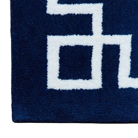 Deco Rug in Navy