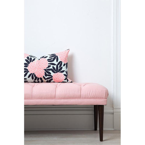 Navy Fleur Chinoise Pillow