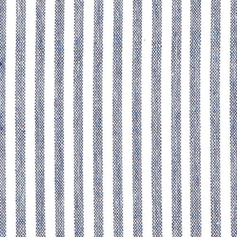 Navy French Stripe Fabric