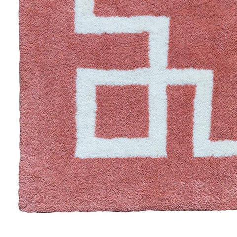 Deco Rug in Peach