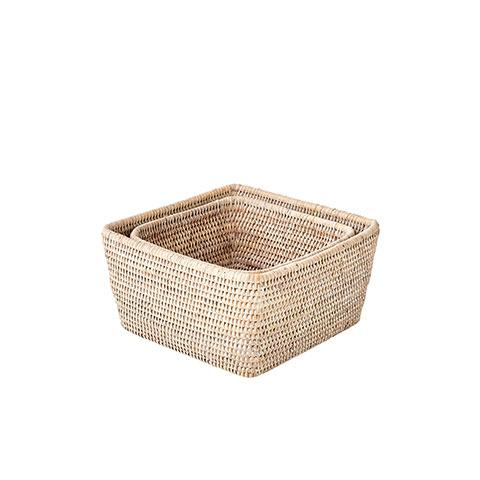 Rattan Storage Basket Set