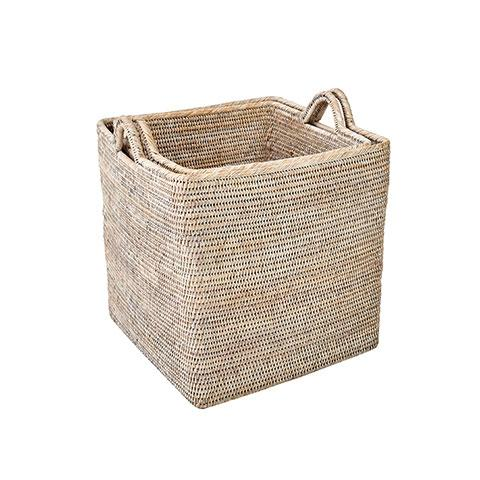 Rattan Large Nesting Basket Set