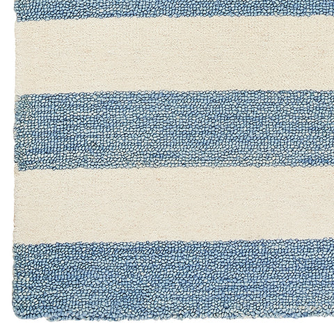 CAIT KIDS: Folly Wide Stripe Tufted Rug Sample